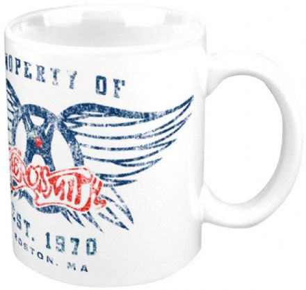 Aerosmith Boxed Mug Property Of Logo